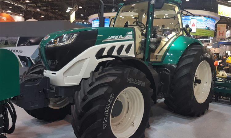 SIMA 2019: Flagship Arbos tractor is still an unknown quantity