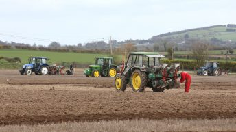 Competitors getting set for European ploughing this weekend