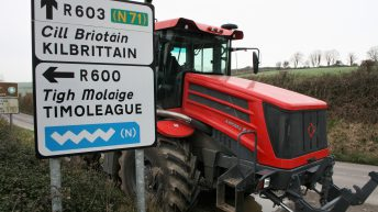 Video: Why did this mighty Russian machine migrate to west Cork?