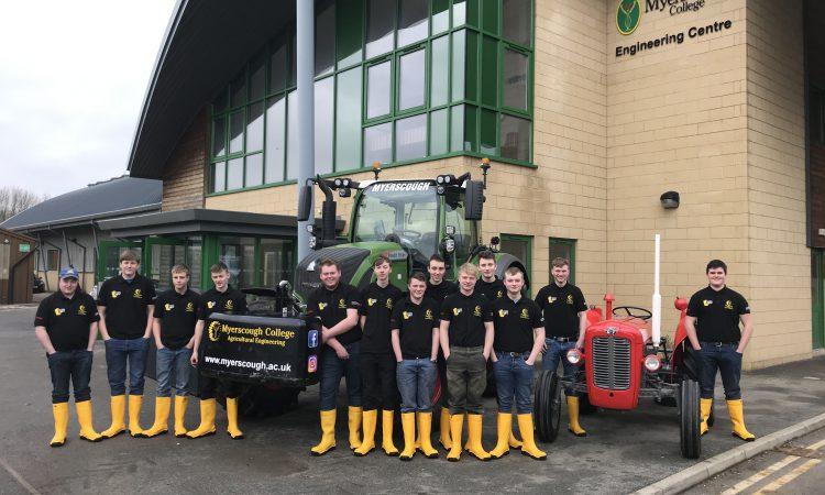 Ag engineering students 'gear up' for mammoth tractor run