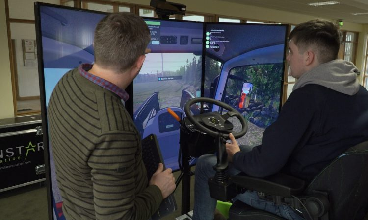 Watch: The new way to train 'ag' students how to drive tractors