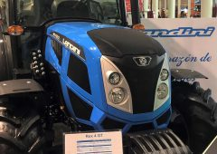 Landini 'narrows the gap between a tractor and a normal road vehicle'