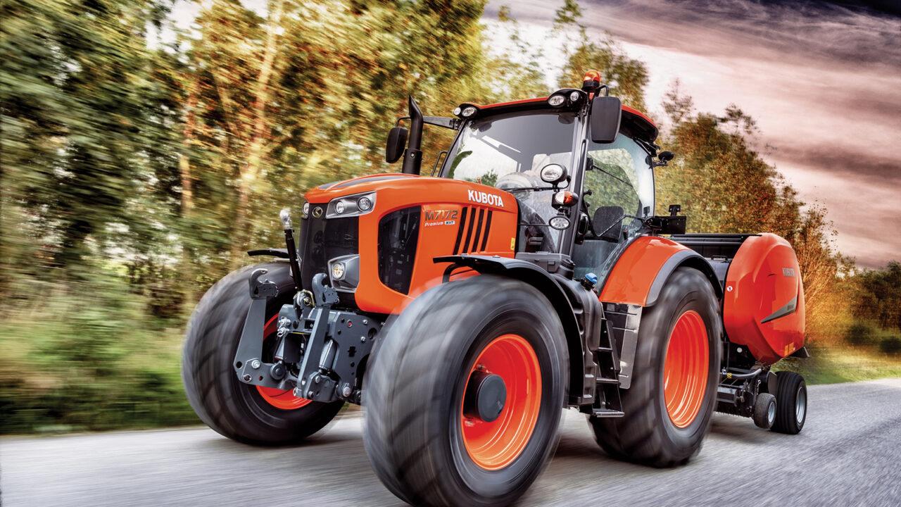 Becoming a major global brand: Kubota highlights its flagship tractor