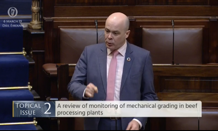 Naughten: 'Beef grading machines in place since 3 years before launch of iPhone'