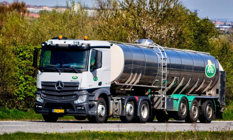Arla aims to cut emissions from milk production by 2050