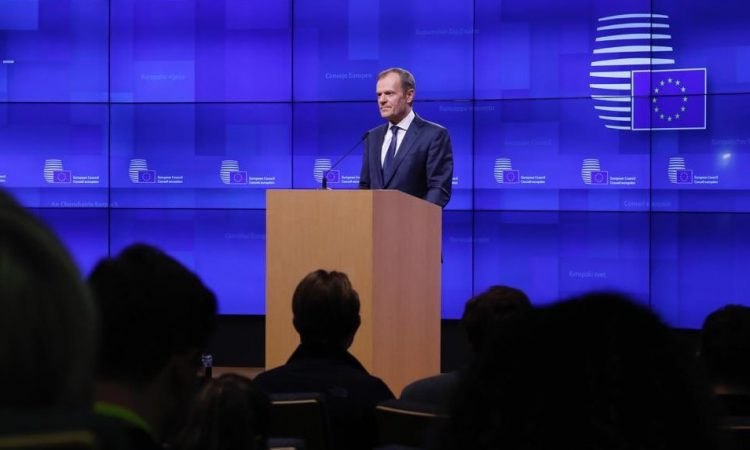 Tusk recommends that EU27 grant Brexit extension