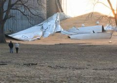 21,000t grain bin collapses in US