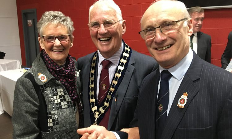 RUAS elects new president at AGM