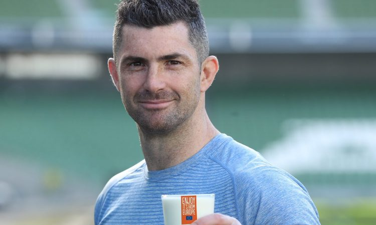 Rugby star Kearney joins dairy diet promotion campaign