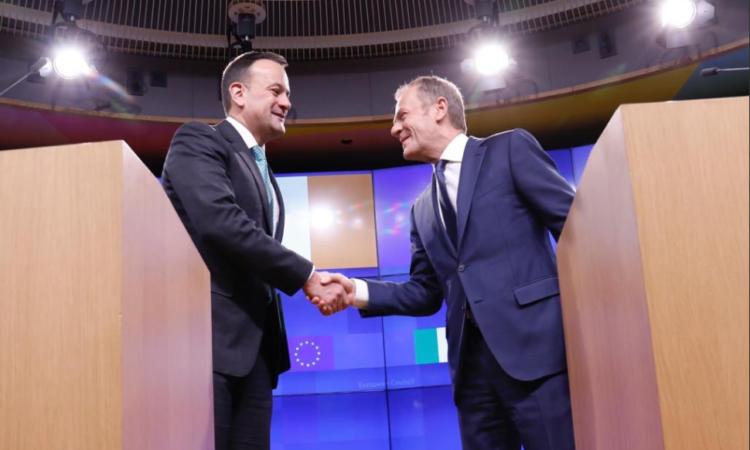 Varadkar and Tusk talk Brexit, amidst Westminster turmoil
