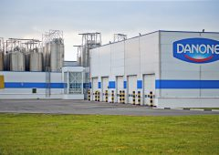 Danone's first quarter sales up by a modest 0.8%