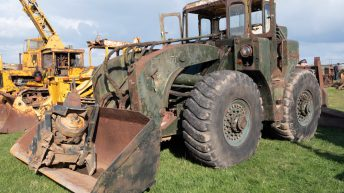 Auction report: Shovels and crawlers from bygone days change hands