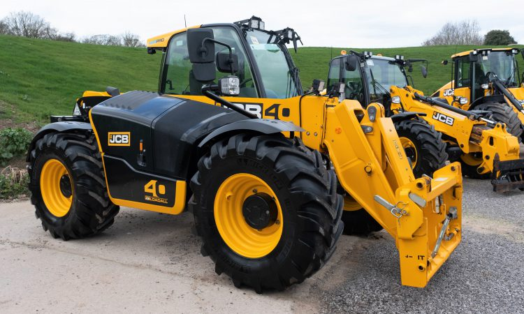 Auction report: Haul of handlers includes 'limited-edition' JCB