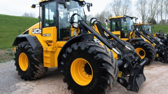 Auction report: Loaders – large and small – change hands at JCB sale