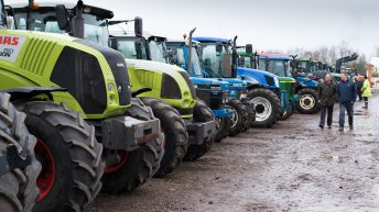 Sales are up at 'world's biggest monthly auction of tractors and farm machinery'