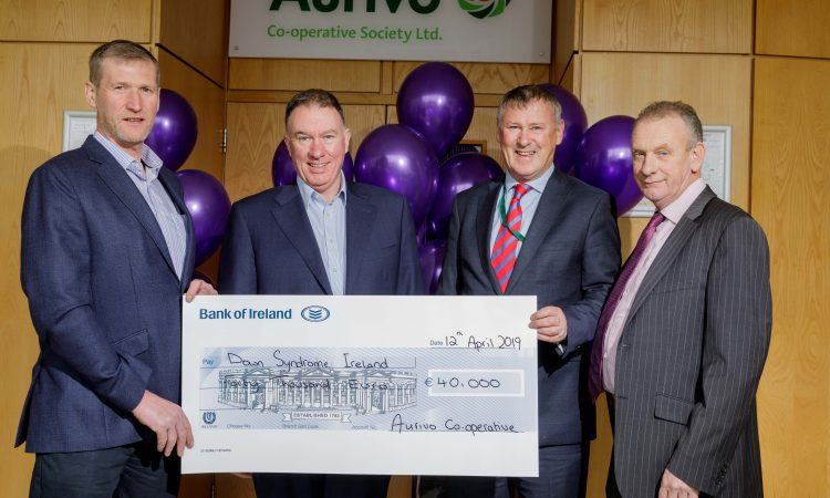 Aurivo presents Down Syndrome Ireland with €40,000