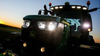 Which tractor brand is on top here in Ireland in 2019?