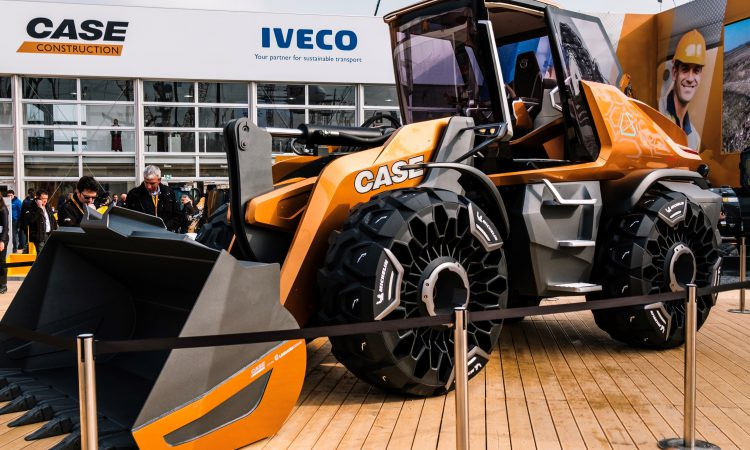 Case unveils its 'loader of the future'