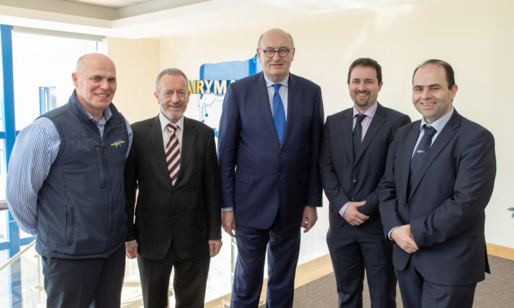 Importance of technology underlined by Hogan in Kerry visit