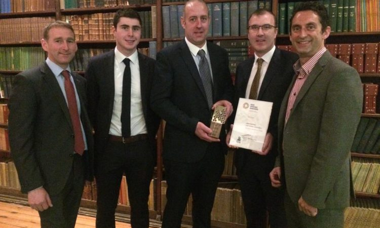 Silverware for Smart Farming at RDS Spring Awards