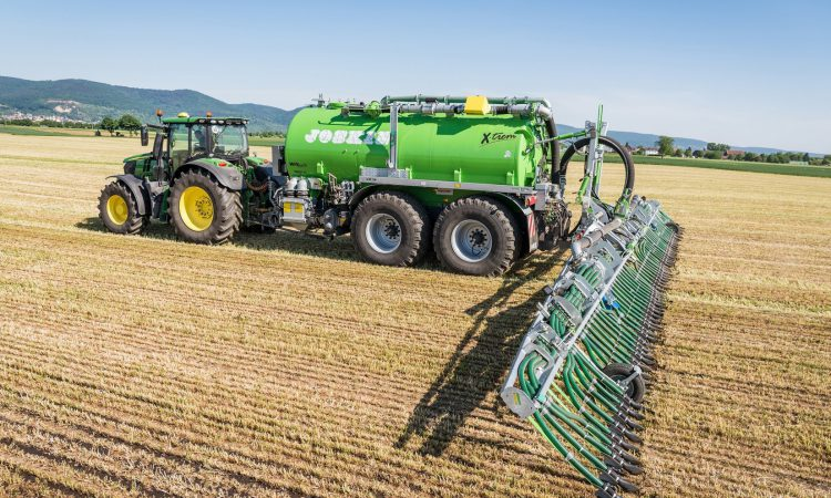Europe-wide award for 'high-tech slurry application system'