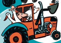 'Not Without My Tractor!': New book ideal kids' bedtime read