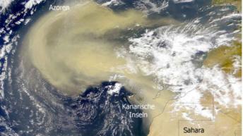 Sahara Desert sands cover Irish countryside overnight
