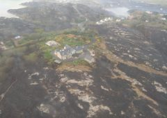 Air Corps called in to help tackle wildfire in Donegal