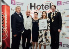 Cork farming couple receive innovation in hospitality gong