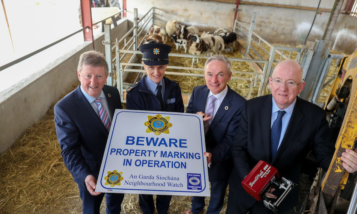 Bruton and Flanagan urge farmers to mark their property