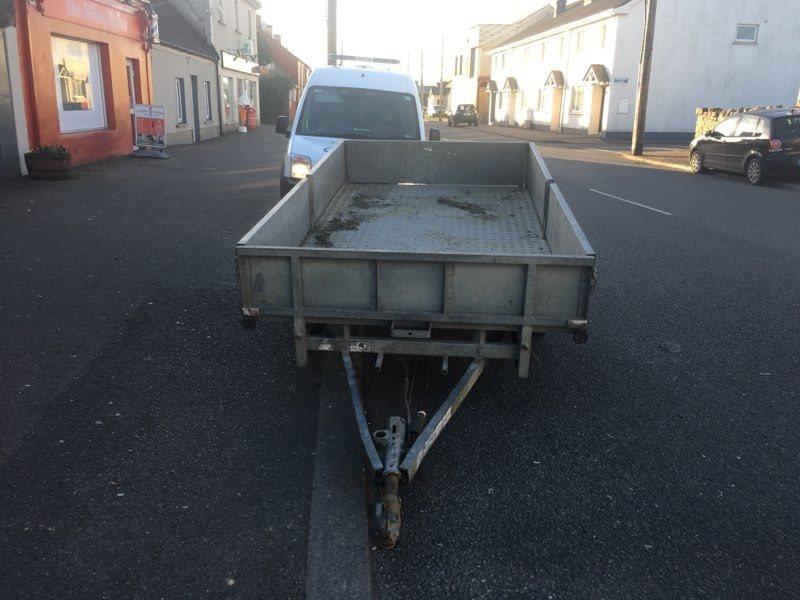 stolen trailer arrest