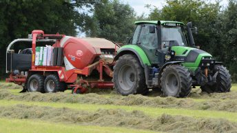 Is €10/bale (including plastic) a fair rate for baling and wrapping?