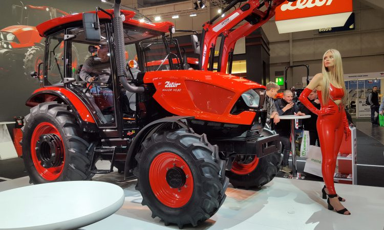 Zetor sales in 2018 totalled 'just over 2,000 tractors per year'