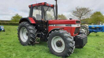 Auction report: £53,500 (plus VAT) for a 1996 Case IH 1455 XL