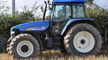 Table: Which brand of tractor is the most popular second-hand import?
