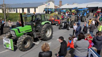 TY students' tractor run raises €6,000 for Galway hospice