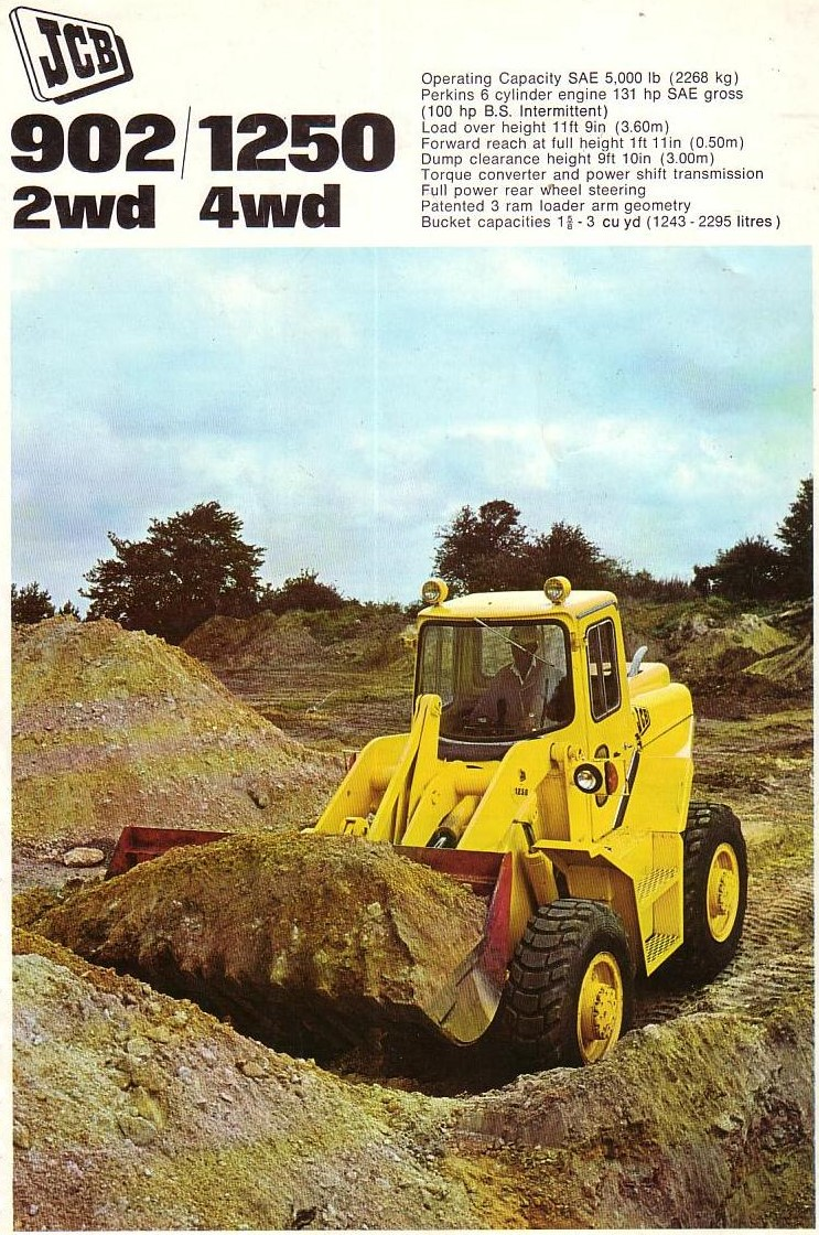 50 years of JCB loaders