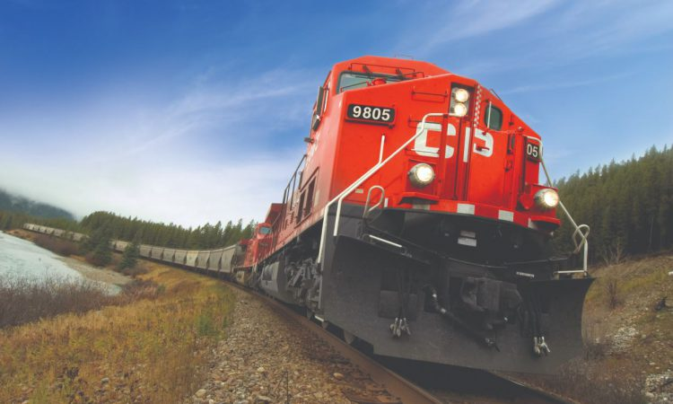 2.64 million tonnes of Canadian grain moved by rail company in April