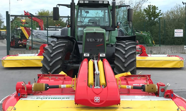 Fendt and Pottinger line out for live 'open day' in Co. Offaly