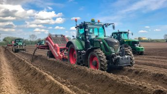 Tillage focus: Green army finishes potato planting in 3 counties