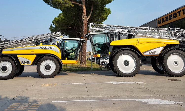 Big debut for Italian-built self-propelled sprayers