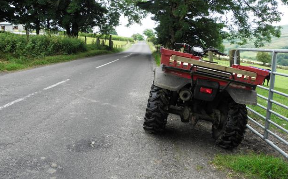 Driving a quad on public roads: What you should know
