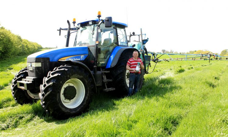 Kildare farmer transforms weed control in hay and silage swards