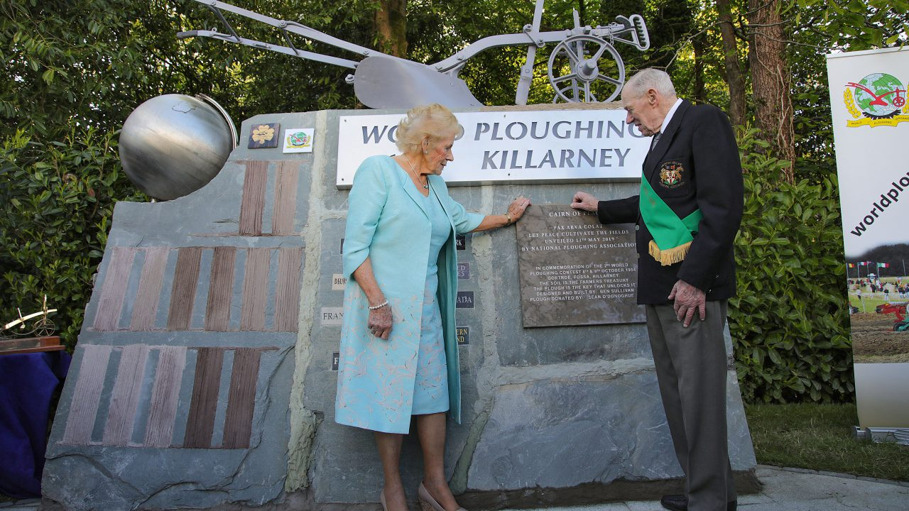 1st World Ploughing Contest on Euro soil commemorated in Kerry