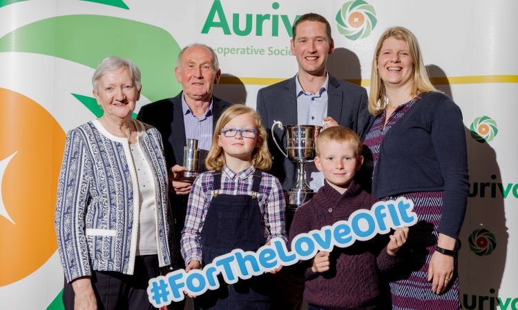 Roscommon farmers win top prize for milk quality at Aurivo awards