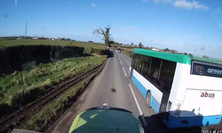 Stark tractor footage highlights issue of dangerous motorists