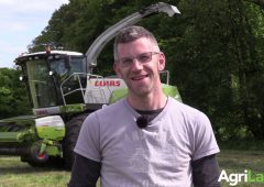 Video: Cranking up a grass-hungry 960 in 'super conditions'
