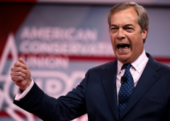 Nigel Farage's Brexit party leads the way in UK Euro elections