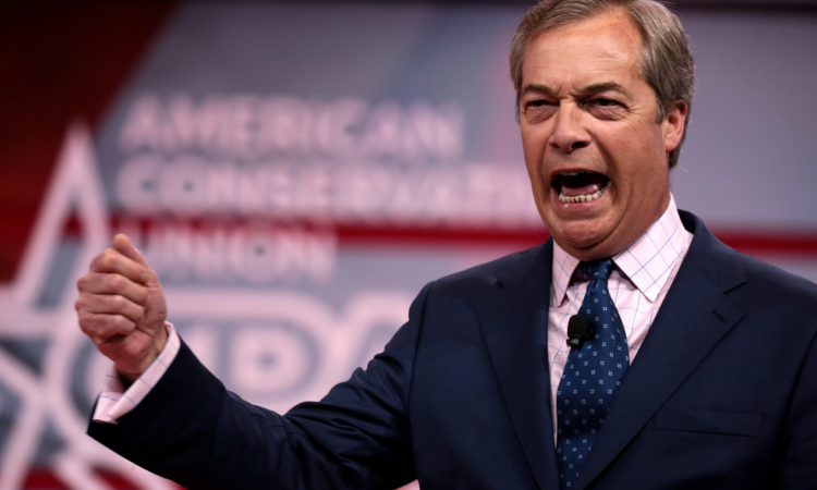 Nigel Farage's Brexit party leads the way in UK's EU elections