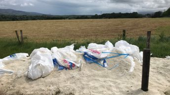Fertiliser bags slashed in vandal attack on farm
